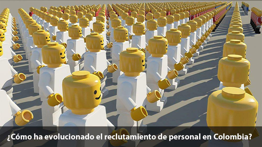 evolución reclutamiento de personal